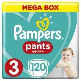 Pampers Pants plienkové nohavičky 3 (6-11 kg), 120 ks