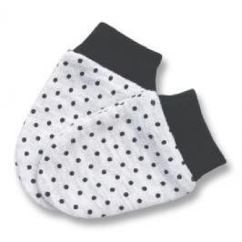 Lafel Dievčenské rukavičky Kitten - šedo-čierne