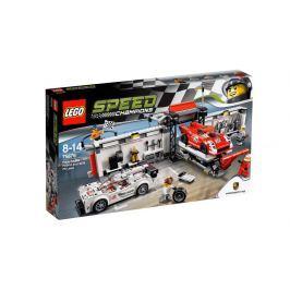 LEGO® Speed Champions 75876 Porsche 919 Hybrid a 917K ulička v boxoch