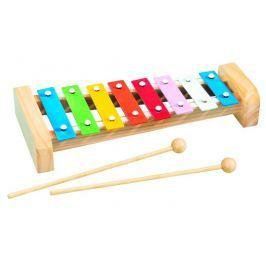 Simba Xylofón s 8 kovovými klávesmi, 27 cm