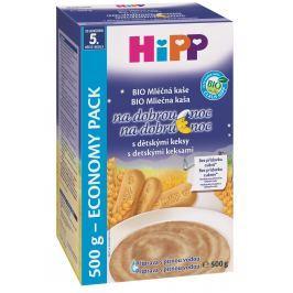 HiPP BIO Mliečna kaša na dobrú noc s detskými keksami