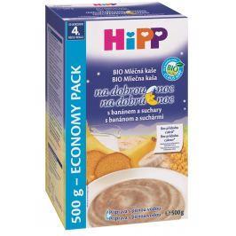 HiPP BIO Mliečna kaša na dobrú noc s banánom a sucháre