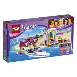 LEGO® Friends 41316 Andrein vozidlo s prívesom pre čln