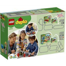 LEGO® DUPLO® Town 10872 Doplnky k vláčika - most a koľaje