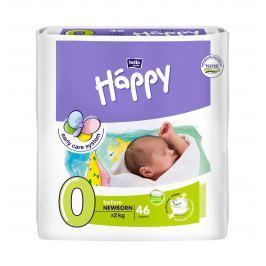 Bella Happy before newborn 46ks - jednorázové plienky