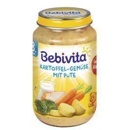 Bebivita Zemiaky-zelenina s morčacím mäsom 6x220g