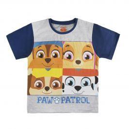 Disney Brand Chlapčenské tričko Paw Patrol - šedé