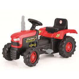 DOLU Veľký šliapací traktor, červený