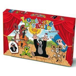 Bonaparte Bábkové Divadlo Krtko papierové 6 ks postavičiek