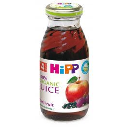 HiPP BIO Šťava z červených plodov ovocia 200 ml