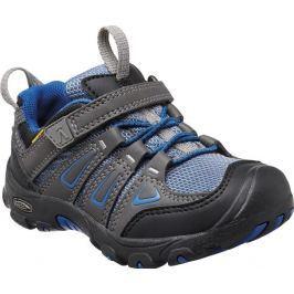 Keen Chlapčenská outdoorová obuv Oakridge Low WP, magnet / true blue