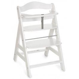 Hauck Alpha + 2018 stolička drevená biela