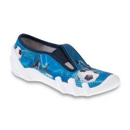 Befado Chlapčenské papučky Skate - modré
