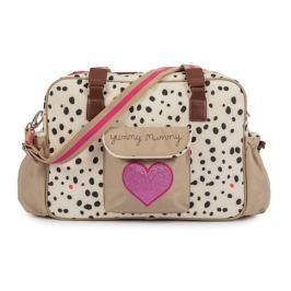 Pink Lining YUMMY MUMMY dalmatín - prebaľovacia taška