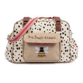 Pink Lining THE BEES Knees dalmatín - prebaľovacia taška