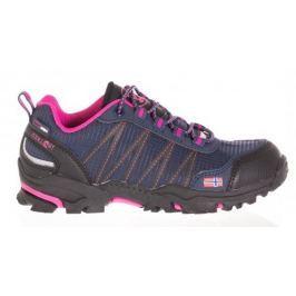 Trollkids Dievčenská outdoorová obuv Trolltunga Hiker Low - ružová