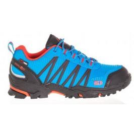 Trollkids Chlapčenská outdoorová obuv Trolltunga Hiker Low - svetlo modrá