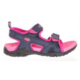 Trollkids Dievčenské Kids Orrestrand sandále - ružové