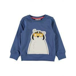 Name it Chlapčenská mikina s medveďom - modrá