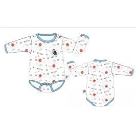 G-mini Chlapčenské body Krtko a nohavičky - farebné