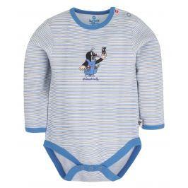 G-mini Chlapčenské body Krtko a nohavičky - modré