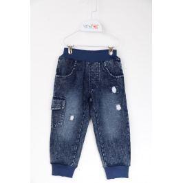 Venere Chlapčenské nohavice Boss - modré