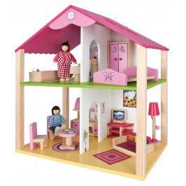 Eichhorn Drevený domček pre bábiky s prísl.