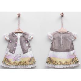 Kitikate Dievčenské šaty s 3D designom Feyza - berevné