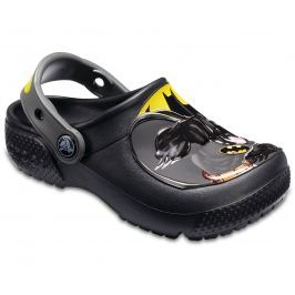 Crocs Chlapčenské sandále Batman Clog - čierne