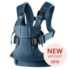 Babybjörn Ergonomický nosič One 2018 Classic Denim Midnight blue cotton