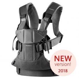 Babybjörn Ergonomický nosič One 2018 Denim grey / Dark grey cotton