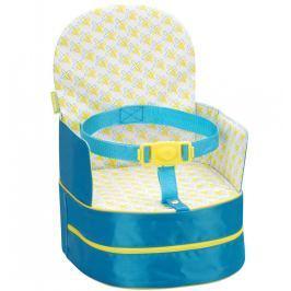 Badabulle prenosná stolička 2v1 On-the-Go Blue