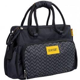 Badabulle prebaľovacia taška BOHO Black