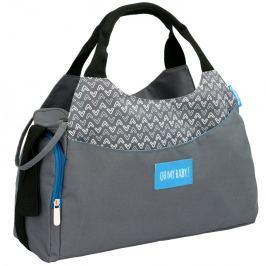 Badabulle Prebaľovacia taška Multipocket Grey