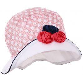 Pupill Dievčenský klobúčik Rivage - červený