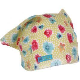Pupill Dievčenská čiapka / šatka Azalea - žltý