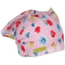 Pupill Dievčenská čiapka / šatka Azalea - ružový