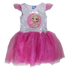 E plus M Dievčenské šaty Frozen - ružové