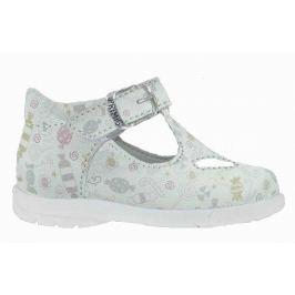 Primigi Dievčenské členkové sandále - biele