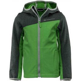 ALPINE PRO Detská bunda BELLO - zelená