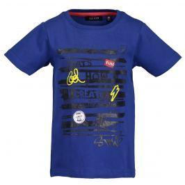 Blue Seven Chlapčenské tričko s nápisom - modré
