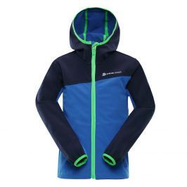 ALPINE PRO Chlapčenská bunda Nootka 4 - modrá