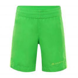 ALPINE PRO Chlapčenské kraťasy Hinatu - zelená