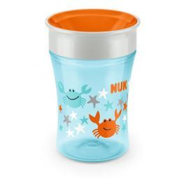NUK Hrnček Magic Cup 230ml, Modrá / oranžová
