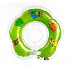Teddies Plávací nákrčník Flipper od 0 mesiacov, zelený
