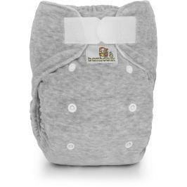 Bamboolik Nočná nohavičková plienka sivá