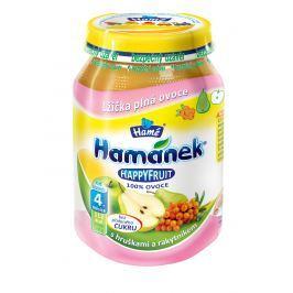 Hamánek HAPPYFRUIT 100% ovocia s hruškami a rakytníkom 6x190g