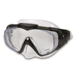 Intex Maska plavecká Aqua Čierna