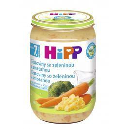 HiPP Cestoviny so zeleninou a smotanou 220g