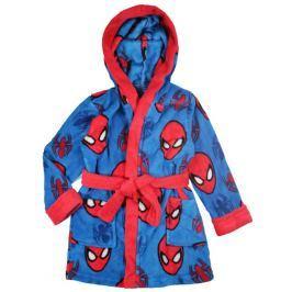 E plus M Chlapčenský župan Spiderman - modro-červený